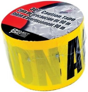 Wilmar Tools 300 Roll Bright Yellow Caution Tape 1475