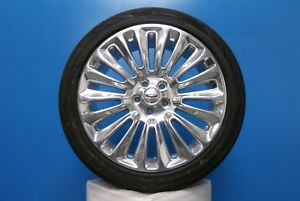 19 Lincoln Mkz 13 16 3954 Rim With Continental Contipro Contact 235 40r19 96v