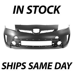 New Primered Front Bumper Cover Fascia For 2012 2013 2014 2015 Toyota Prius