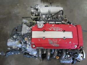 Jdm Honda B18c Type R Engine And Lsd Transmission B18c5 Vtec