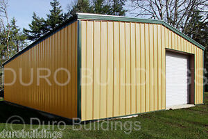 Durobeam Steel 36x60x14 Metal Garage Building Kits Usa Made Lowest Prices Direct