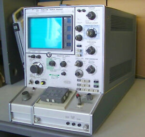 Tektronix Type 576 Curve Tracer With 013 0098 00 Transistor Adapter