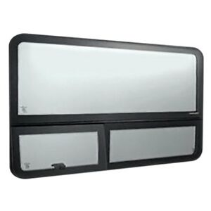 For Dodge Sprinter 3500 03 06 Forward Driver Side Fixed all glass Look Window