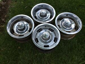 Camaro Nova Rally Wheels 14x7 Set Of 4 Code Yj
