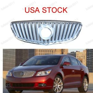 Usa Stock Chrome Front Grill Upper Radiator Grille For Buick Lacrosse 2010 2013