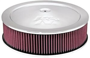 K N Filters 60 1290 Custom Air Cleaner Assembly New