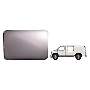For Chevy Express 3500 97 17 Forward Driver Side Fixed all glass Look Window