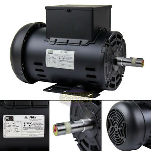 5 Hp Air Compressor Electric Motor 56hz Frame 3440 Rpm Single Phase Weg 7 8