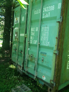 20ft Used Shipping Container Wind Watertight Clean Inside Nw New Jersey