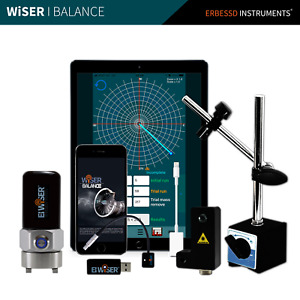 Wireless Vibration Analyzer Dynamic Field Balancing System