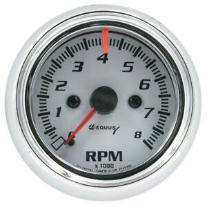 Equus Tachometer Gauge 5076 5000 Series 0 To 8000 Rpm 2 5 8 Electric