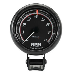 Equus Tachometer Gauge 6086 6000 Series 0 To 8000 Rpm 2 5 8 Electric