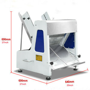 110v 5 8 Commercial Electric Bread Slicer 23 Pieces Bread Cutter Machine