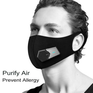 Smart Electric Mask Air Purifying Fresh Air Supply Mask N95 Anti Dust Pollution
