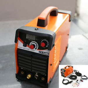 Ct520d Plasma Cutter Tig mma Stick Welder Dual Voltage 3in1 Air Plasma Cutter He