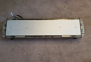 Whelen Sx8bbbb 48 5 Lfl Liberty Led Lightbar Clear Lenses Take downs And Alleys