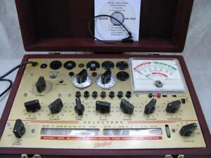 Hickok 800 Mutual Conductance Tube Tester Calibrated Specs New Custom Case