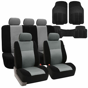 Car Seat Covers Set W All Weather Floor Mats 5 Colors