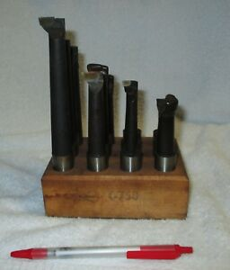 12 Borite Carbide Tip 3 4 Shank Boring Bars Machinist Machine Shop Tools