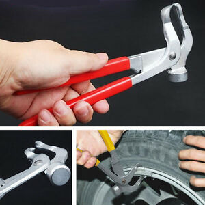 Tires Wheel Weight Plier Balancer Clip Weight Remover Plier Hammer Car Auto Tool