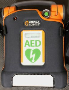 Cardiac Science G5 Powerheart Automatic Aed With 2020 New Pads W Case Bilingual