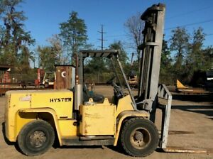 Hyster H155xl Forklift Propane 15 000 Lb