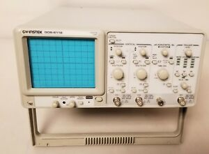 Gw Instek Gos 6112 2 Channel 100mhz Oscilloscope With Probes