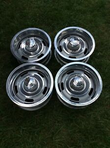 Camaro Nova Rally Wheels 14x6 Set Of 4 Code Xg