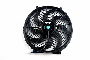 Electric Cooling Fan 14 With Curved Blades 2500 Cfm Great For Hot States