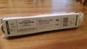 Ktld 60 1 12v Keystone Led Driver 60w Power Supply Brand New