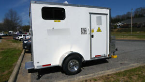 Fiber Optic Trailer Mobile Laser Trailer office Trailer