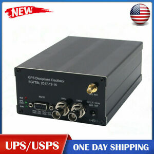 Gpsdo Gps Colck 10m W lcd Display Frequency Message Disciplined Oscillator Ustop