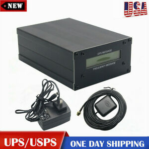 Gpsdo Gps Colck 10m W lcd Display Frequency Message Disciplined Oscillator Us
