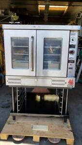 Wolf Air Flow Gas Convection Oven Nat Gas With 208 V 1 Phase tested W Live Pic