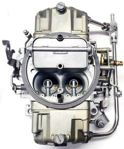 Holley 750 Cfm Double Pumper Hi Performance 4v Carburetor P N 4778 4