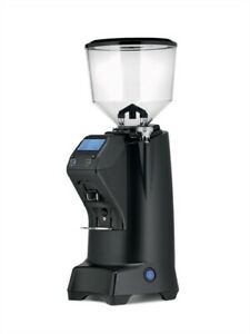 New Eureka Club E Doserless Commercial 60mm Flat Burr Espresso Grinder Black