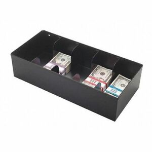 Mmf Industries 225107204 Currency Tray 5 Compartments black