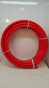 100 1 1 2 Non Oxygen Barrier Red Pex Tubing For Heating plumbing potable Water