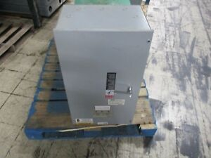 Asco Automatic Transfer Switch D00300030070c10c 70a 208v 50 60hz Used