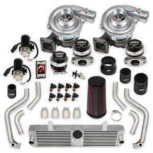 Corvette C6 2008 Ls3 Holley Sts Twin Turbo System With Tuner Fuel Injectors