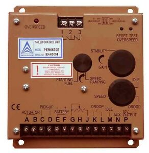 Electronic Engine Speed Controller Governor 5570e Generator Genset Parts fp