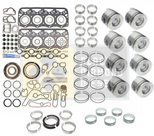 Black Diamond 94 97 Ford 7 3 Powerstroke Engine Rebuild Kit With Pistons