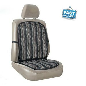 Allison Arctic Cool Tweed Back Support Aircool Cushion Auto Car Home Office Seat