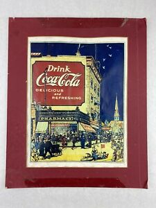 COCA COLA - Vintage Nostalgic Wall Decor unique Made for COCA COLA