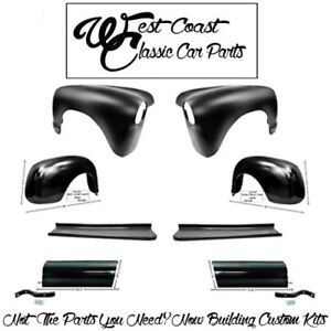 1947 1953 Chevy Truck Front Rear Fenders Running Boards Bed Aprons
