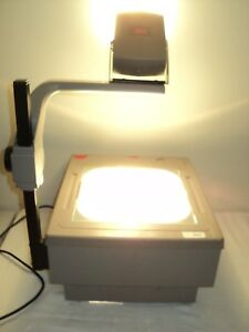 3m Model 1715 Overhead Projector Used With Bulb