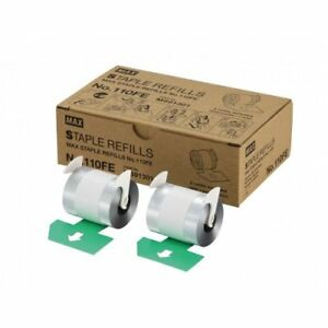 Max No 110fe Staple Refills For Eh 110f 2 Rolls
