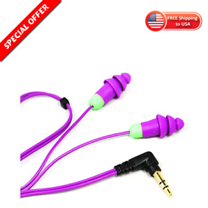 Ear Plugs Music And Hearing Protection W Silicone Tips Noise Reduction Earbuds
