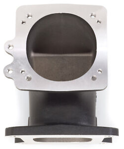Edelbrock 38493 High Flow Intake Elbow 95mm Throttle Body To Square bore Flange