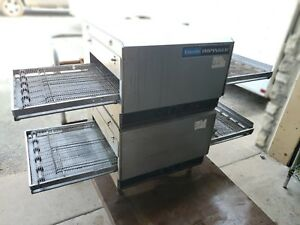 Lincoln Impinger 1301 Double Stack Commercial Electric Countertop Conveyor Oven